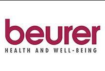 Beurer / A sua gama abrange uma grande variedade de produtos, incluindo medidores de tensão arterial, termómetros, cobertores elétricos, sobrecolchões elétricos, balanças de casa de banho, medidores de massa corporal, produtos de beleza, estímuladores musculares, lâmpadas de terapia, massajadores, nebulizadores, medidores de tensão arterial, pulsóximetros, banhos de pés e humidificadores, bem como monitores do ritmo cardíaco.