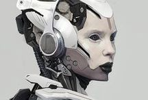 Sci-Fi Art and Illustrations