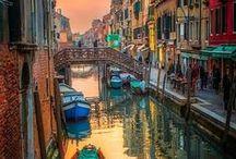 Cities for Arts:  Venezia, Roma, Firenze ( Florence, Rome, Venice )