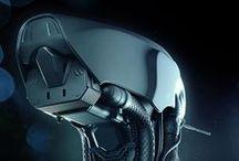 Futuristic Sci-fi Military Cyborg Art