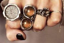 A C C E S S O R I Z E / Scarves, rings, necklaces, handbags. . . / by Tina Zinth-Wood