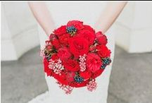 Wedding Flowers / Ideas for wedding flower bouquets, mostly examples from my wedding photography
