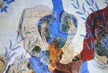 Troy, Mycenae & Minoan Crete and Akrotiri / Homer's legendary lands and their neighbours