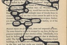 Book Page/Blackout Poetry