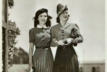 1930s and 40s Fashion / Stylish, modish, gorgeous.