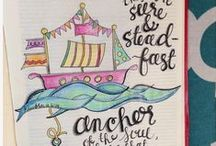 Bible Journaling / Inspiration ~ Ideas ~ Examples