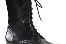 Demonia Goth Streetwear Shoes / Demonia Shoes - Goth Streetwear creepers, boots, flats and heels.