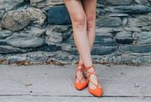 Celeb Style: Lace-Up Flats / Who isn't wearing lace-up flats? Celebrities, bloggers, and all of your friends love this style! Check out who's wearing lace-up flats and then shop our styles!