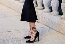 Celeb Style: Lace-Up Heels / The lace-up trend is so in right now and we're all over it! Need a little something to spice up your vacation wardrobe or for your next night out? Guilty Soles has you covered!