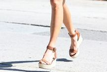 Celeb Style: Wedges / Sundresses, barbecues, watermelon, and wedges are just a few things we love about summer! Check out how your favorite celebrities are wearing wedges and then find a pair you love on our website!