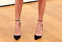 Celeb Style: Ankle Strap Heels / Ankle strap heels are the perfect way to finish a look - we've yet to find an outfit that they don't look great with! Check out how celebrities are wearing ankle strap heels and then get some of your own from GuiltySoles!