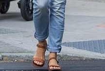Celeb Style: Simple Sandals / Simple sandals can take you from Spring to Summer, day to night, and week to weekend. Shop our favorite simple sandals and rock them like your favorite stylish stars.