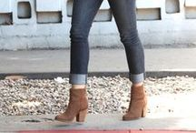 Celeb Style: Boots / Give your closet a reBOOT with some of our favorite booties! With a slouchy sweater and your latest pair of boyfriend jeans, a great pair of booties will put your outfit off the charts. Get some celebrity style inspo here!