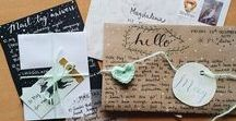 Snail Mail / Snail mail is now an art form. We love to encourage our residents and their family members to send mail the old fashion way as well as educating them on the new ways that technology has improved our society.