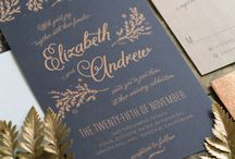 Wedding Invitation Ideas / Wedding invitation ideas, beautiful invites and save-the-dates for your wedding day.