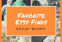 Favorite Etsy Finds / A group board featuring great product finds on Etsy. Want to collaborate? Please follow us then email artisanpinterest@gmail.com and make a request. ***SIMPLE RULES***  1. Don't spam the board. 2. Pins must be quality Etsy products. These product pins should be pretty and creative. REPIN WORTHY. 3. No more than 5 pins per day. 4. You may pin a few of your own products, but also must take the time to pin others as well. Any abuse of the rules & you will be removed and/or your pin deleted. Thanks!