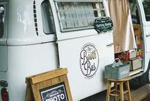 Remodeled Vintage Trailers / Beautiful, colorful, and retro remodeled vintage trailers from airstreams to canned hams.
