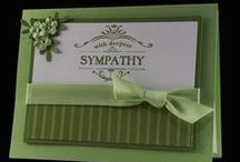 Sympathy Cards / Sympathy card ideas, card quotes, card inspiration, and DIY sympathy cards for friends and family going through a rough time