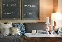 Making our house a home / by Nikki Thompson