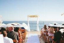 Surf & Sand Weddings / We are here to help find ideas for the perfect beach wedding.
