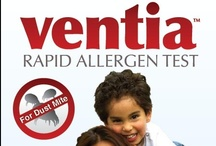 Ventia™ Rapid Test for Dust Mites / Ventia™ is a home-based rapid allergen test for detection of house dust mite allergen which is designed for use by allergic patients and other consumers. Results are obtained within 10 minutes and color indicator lines show whether the sample contains Low, Medium or High levels of mite allergen.