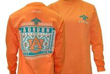 Auburn University in Comfort Colors / The softest shirts made for the best university!