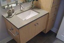 Bathrooms / Various photos and ideas for bathrooms.