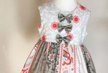 Clothing for the Little One / I'm inspired to begin sewing again. . . .I once designed and made little girls clothing. . . .I've never lost interest in it. . . .There are so many really talented young designers today. . . .Just gotta pin a few of my favorites. . . .