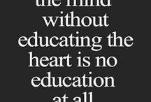 Educación / by Virginia