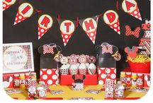 Minnie Mouse Birthday Party / Minnie Mouse themed party for your next Minnie Mouse birthday.
