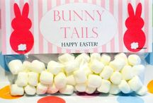 Easter Party Favor Toppers / Easter Party Favor bag toppers are a fun way to help your little ones celebrate Easter!