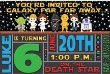Party Invitations / Party invitations for all your themed parties!