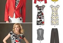 Store Sewing Patterns / Collection of sewing patterns