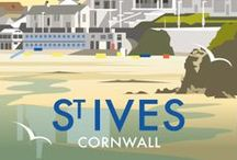 St Ives / We are lucky enough to live in, make, and sell our products in the beautiful county of Cornwall & in the stunning location of St Ives, with sand, sea and sunshine to see on a daily basis
