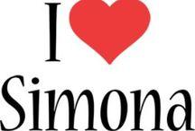 Simona / .... Il mio nome....