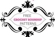 Crochet Round Ups / Blog Roundups for Free Patterns