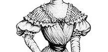 1900-1910 fashion / Lady's fashion 1900-1910