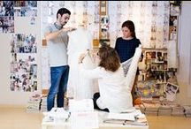 OUR DESIGN DEPARTMENT / Merche Segarra is  responsible for the creative department. She makes us dream, year after year with her creations so elegant and feminine.