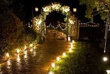SOME LIGHT AT YOUR WEDDING