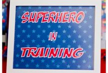 Party Signs / Themed birthday party signs