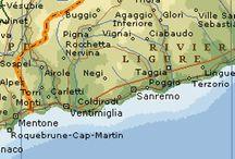 Mappe di Sanremo / Cartine e piantine della città di Sanremo