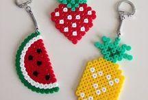 DIY Perles Hama à repasser / Inspirations, créations en perles Hama à repasser