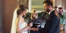 """YES, I DO / One of the most magic moments of a wedding, whet bride and groom say """"Yes I do"""" ❤❤"""