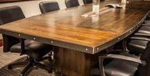 Edison Dark Signature conference table