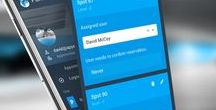 Parkalot.io - facility parking mangement app / Mobile app showcase - flat UI, single click UX flow. Design resources and others