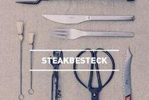 höfats STEAKBESTECK / Werkzeug, das einem gelungenen Stück Fleisch gerecht wird.