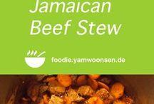 Karibische Rezepte auf foodie.yamwoonsen.de / karibische und kreolische Gerichte, Rezepte aus Jamaika, Chilis, Rum