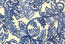 blue + white ... bleu + blanc