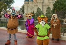 Theme Park Characters / by Undercover Tourist