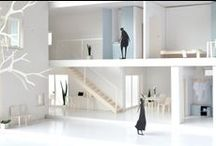 Other architecture models / Other people's architectural models that intrigue and inspire us.